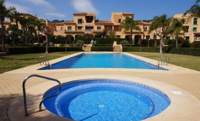 LB021 Fabulous 1 bedroom Duplex Apartment in the Port of Javea